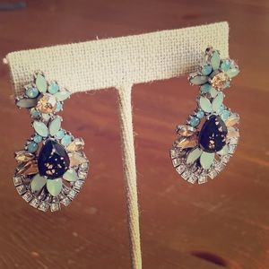 Chloe + Isabel Crystal Convertible Drop Earrings